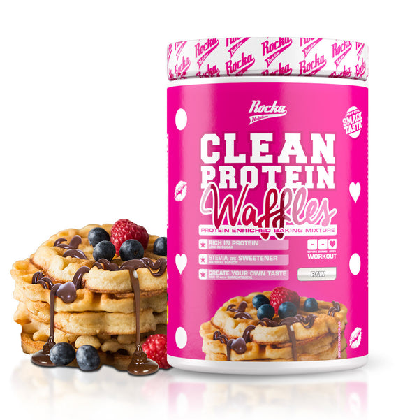 Clean Protein Waffles