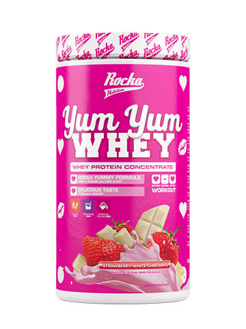 Yum Yum Whey Strawberry White Chocolate