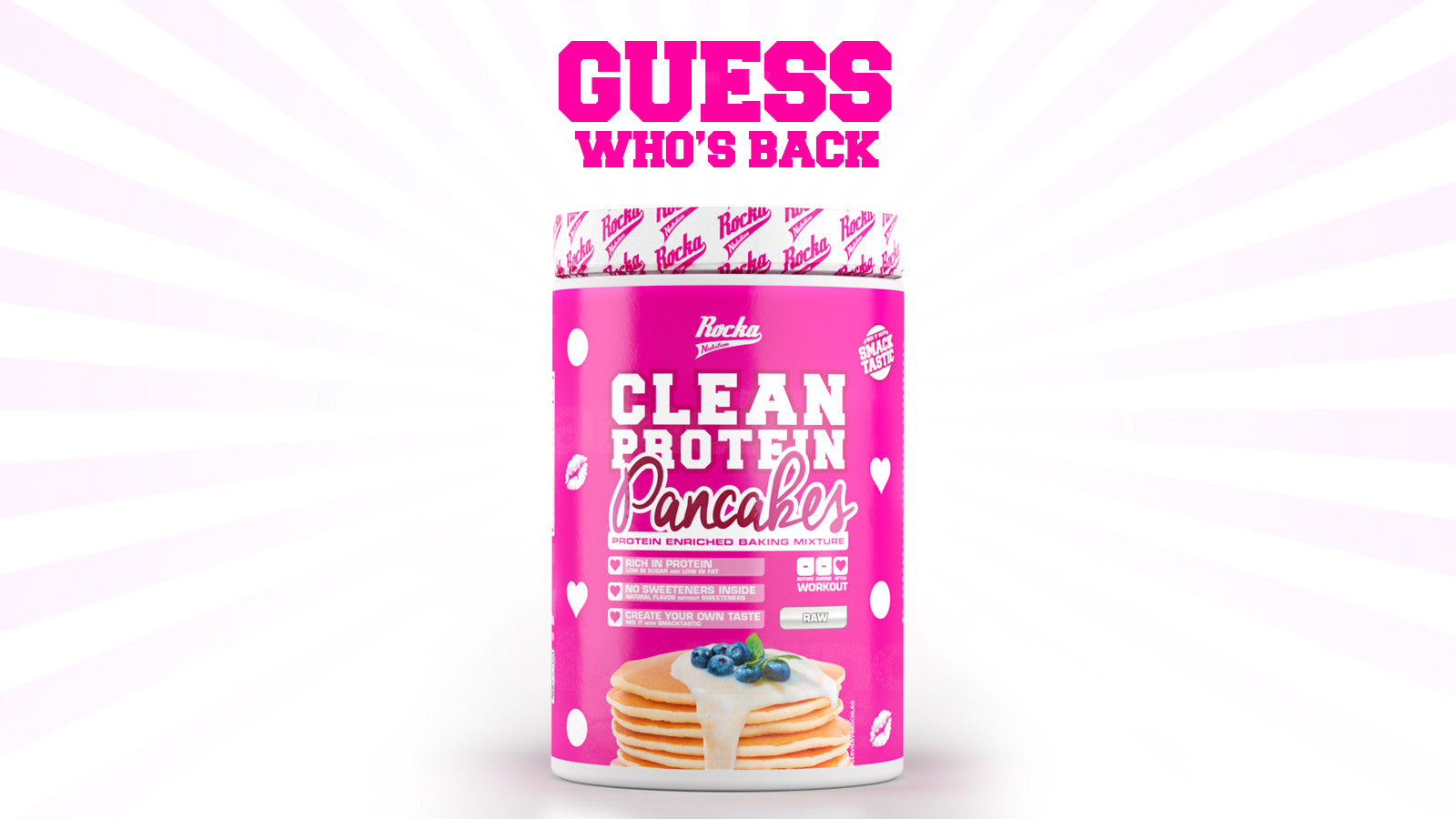 Rocka Nutrition Clean Protein Pancakes