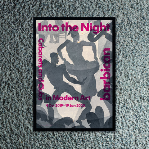 Into the Night Exhibition Poster
