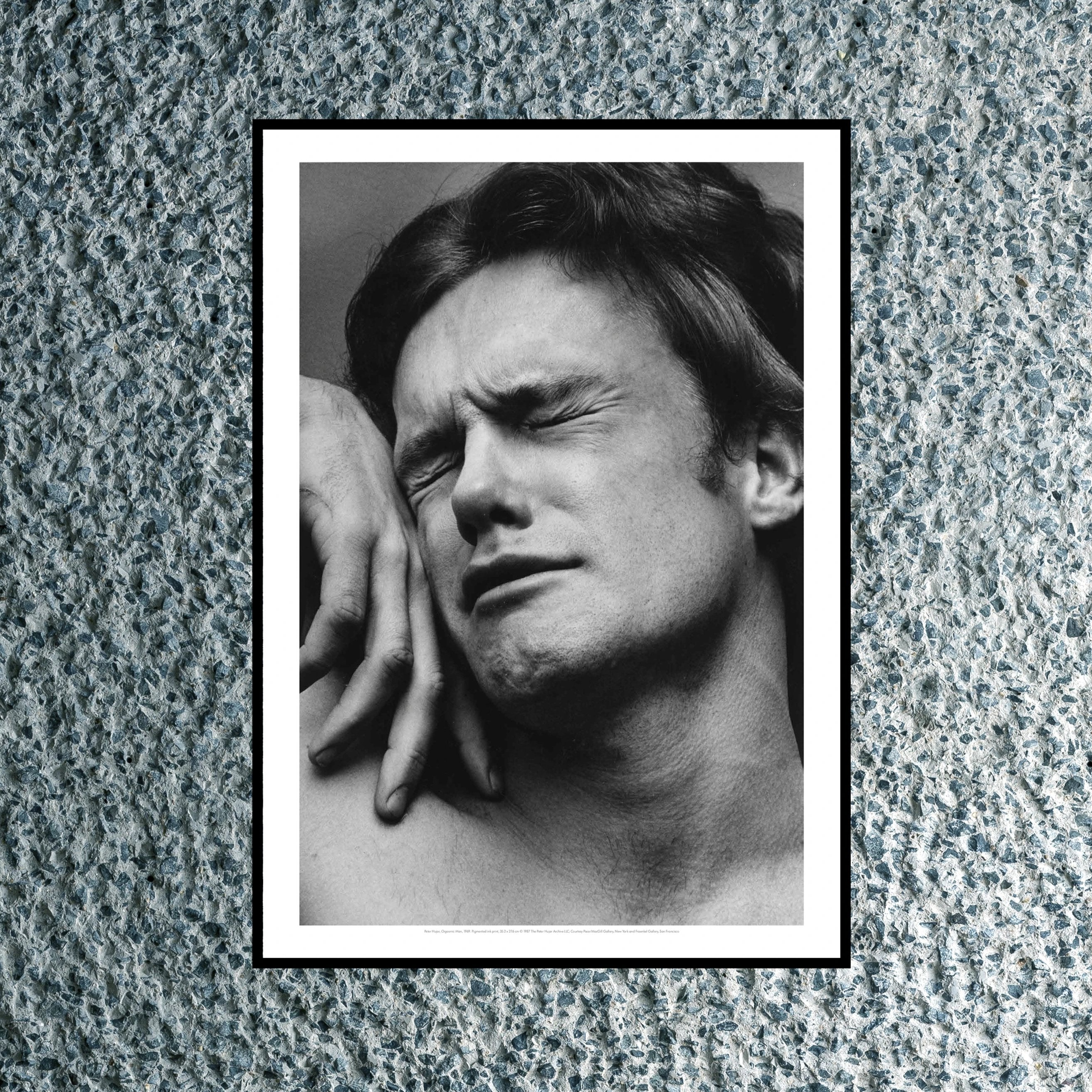 Orgasmic Man Print by Peter Hujar