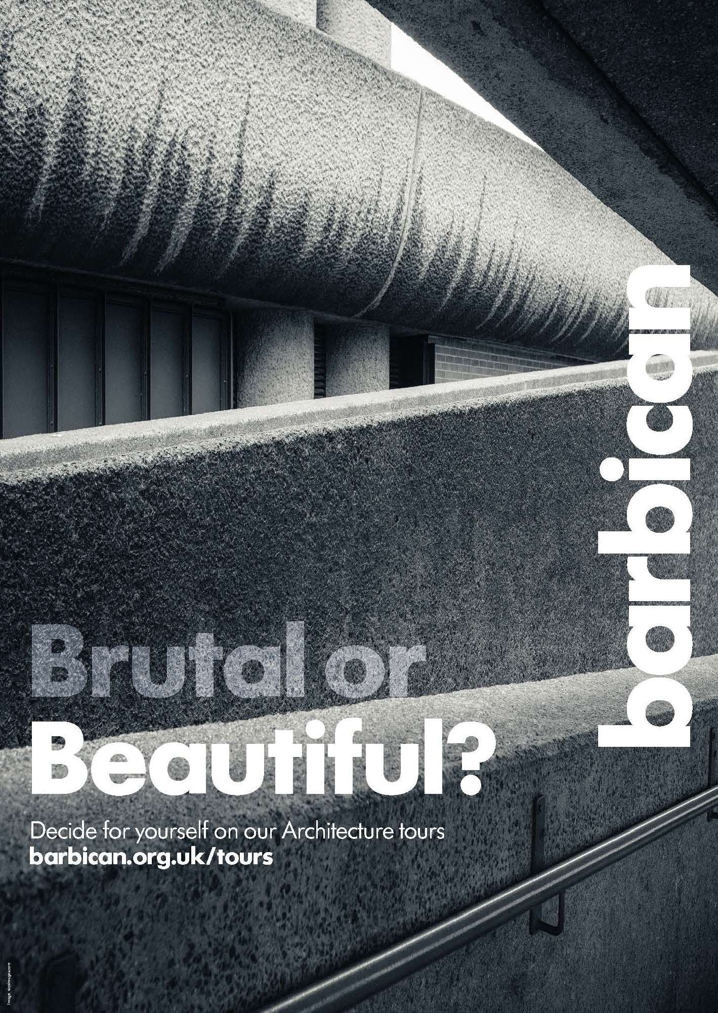Brutal Or Beautiful Poster Barbican Shop