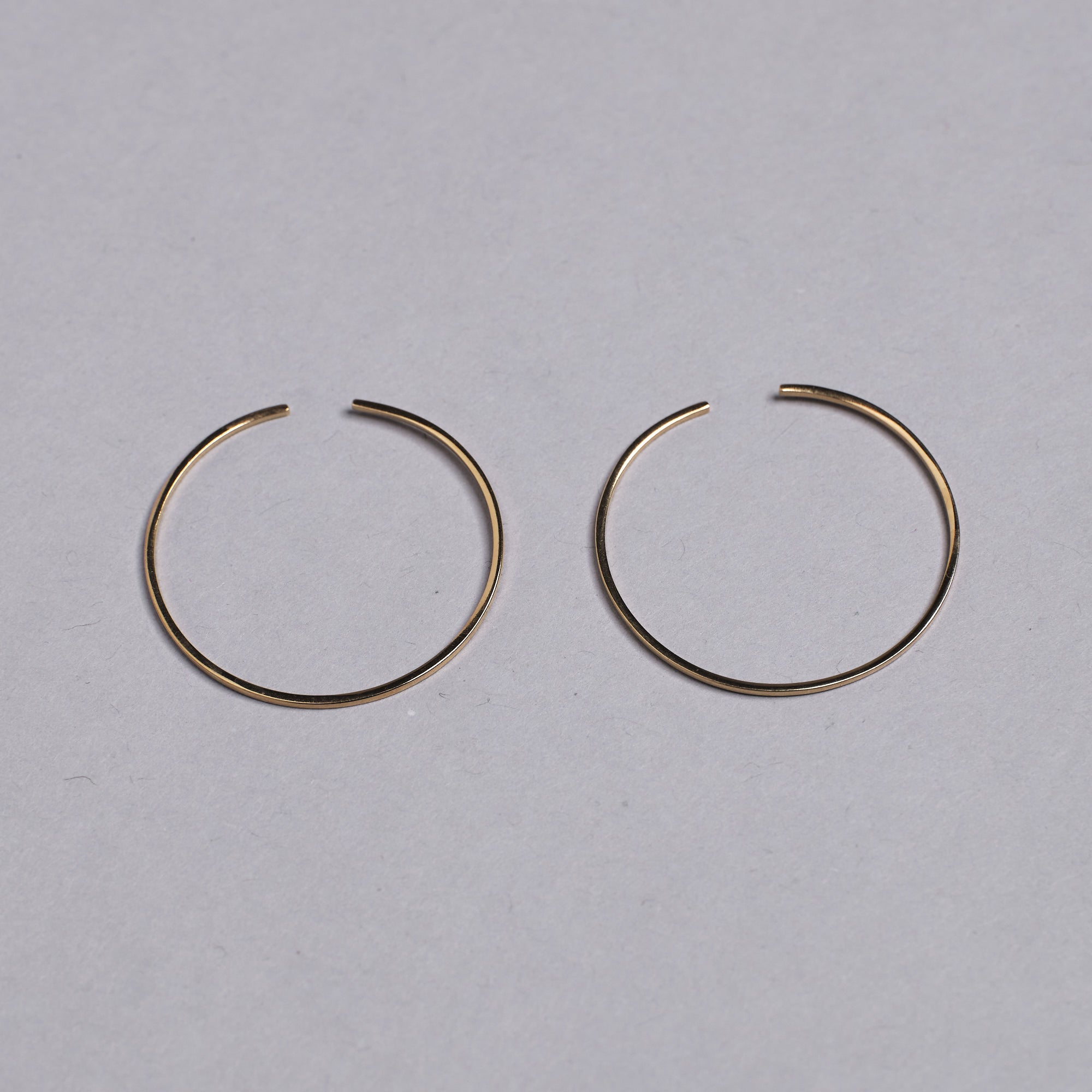 Gold Round Ear Cuffs by Otis Jaxon