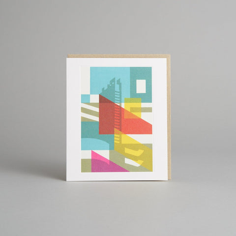 Barbican Shapes Card by Paul Catherall