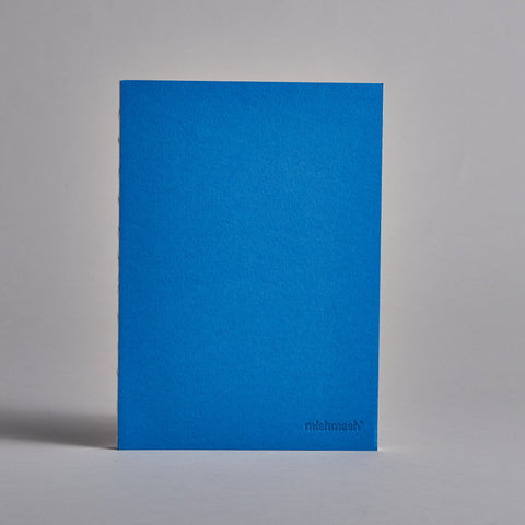 Blue Mishmash Notebook