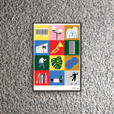 Barbican Poster by Charlotte Trounce