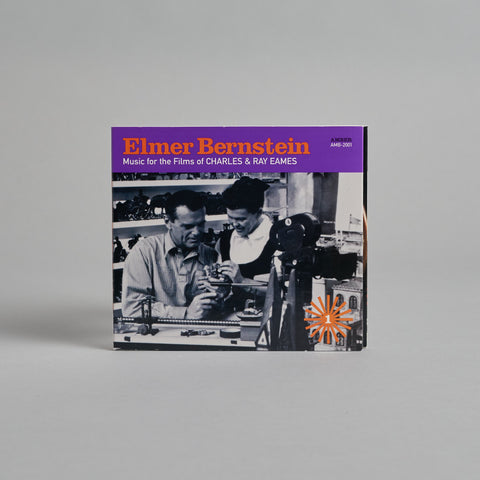 Elmer Bernstein: Music for the Films of Charles & Ray Eames CD Vol. 1