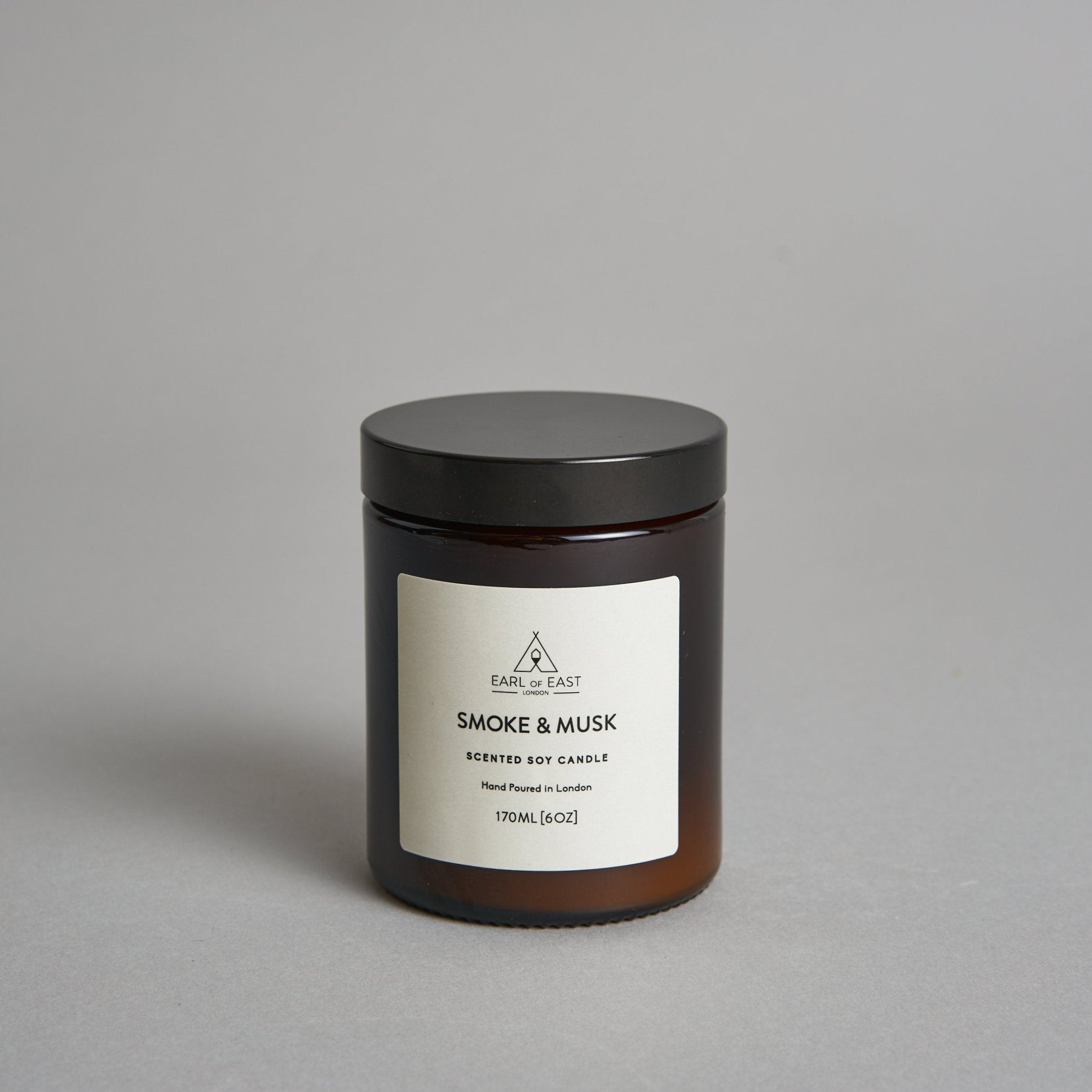 Soy Wax Candle - Smoke & Musk