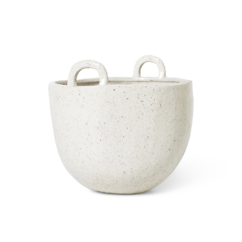 Speckled Pot with Handles