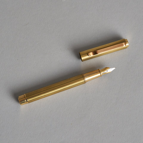 Brass Fountain Pen by Monograph