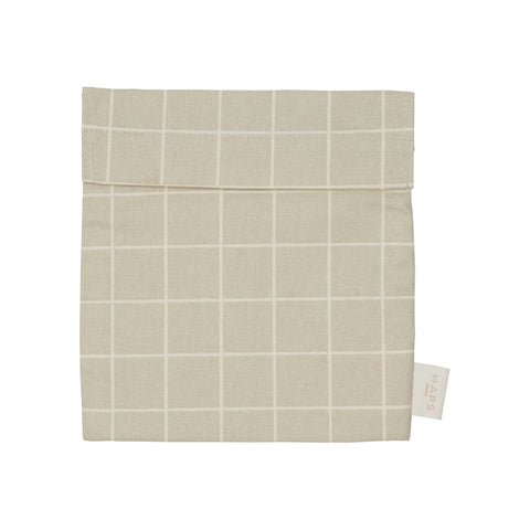 Grey Check Sandwich Bag