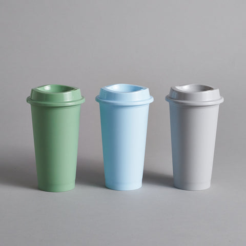 Paquet Reusable Coffee Cups - Blue
