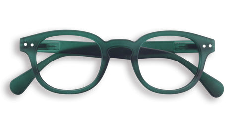 Green #C Glasses