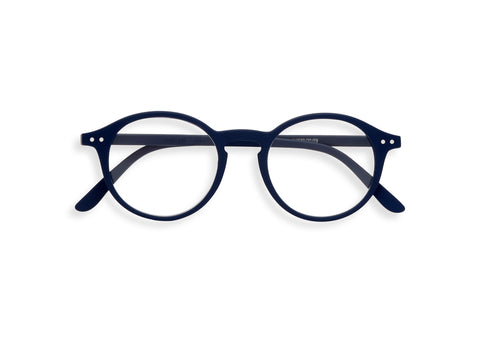 Navy #D Glasses