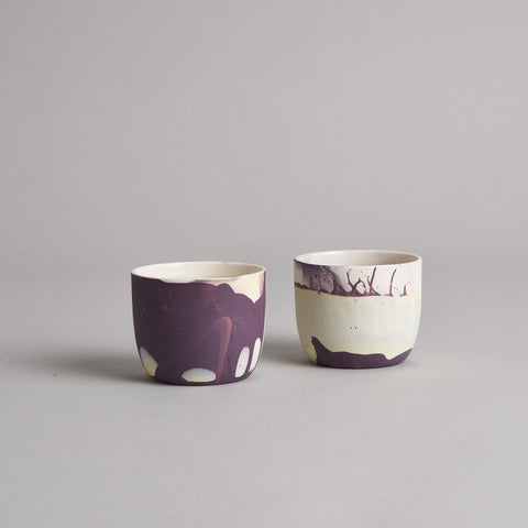 Small Coffee Cup Set by JDPceramics