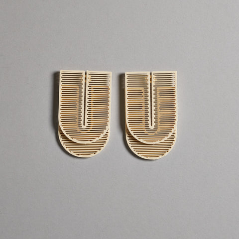 Tu Mono Earrings by Topodom