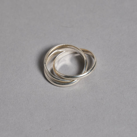 Silver Triple Russian Ring by Otis Jaxon