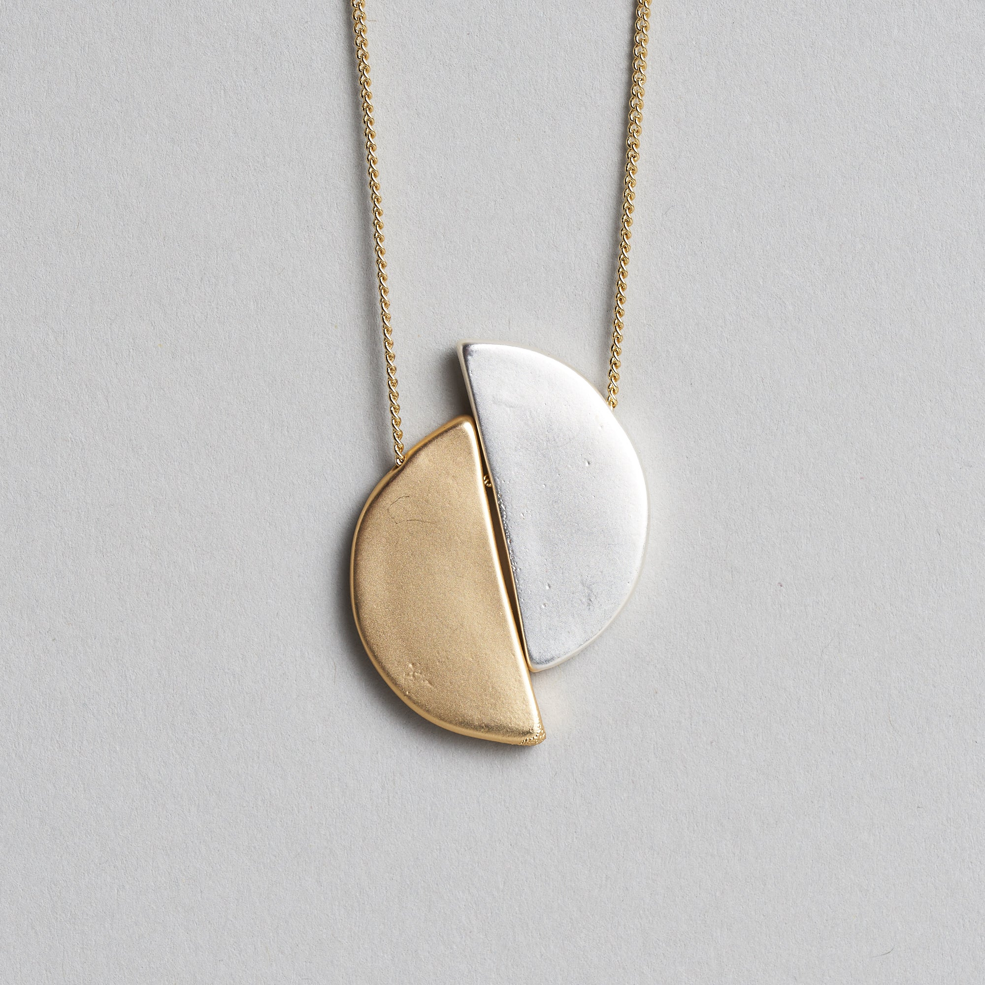 Nadia Half–Moon Necklace