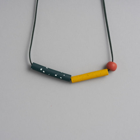 Gold Fish Necklace by Jennifer Campbell
