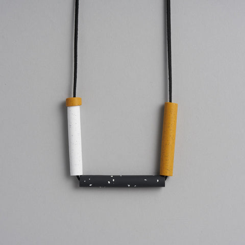 Mr Mustard Necklace by Jennifer Campbell