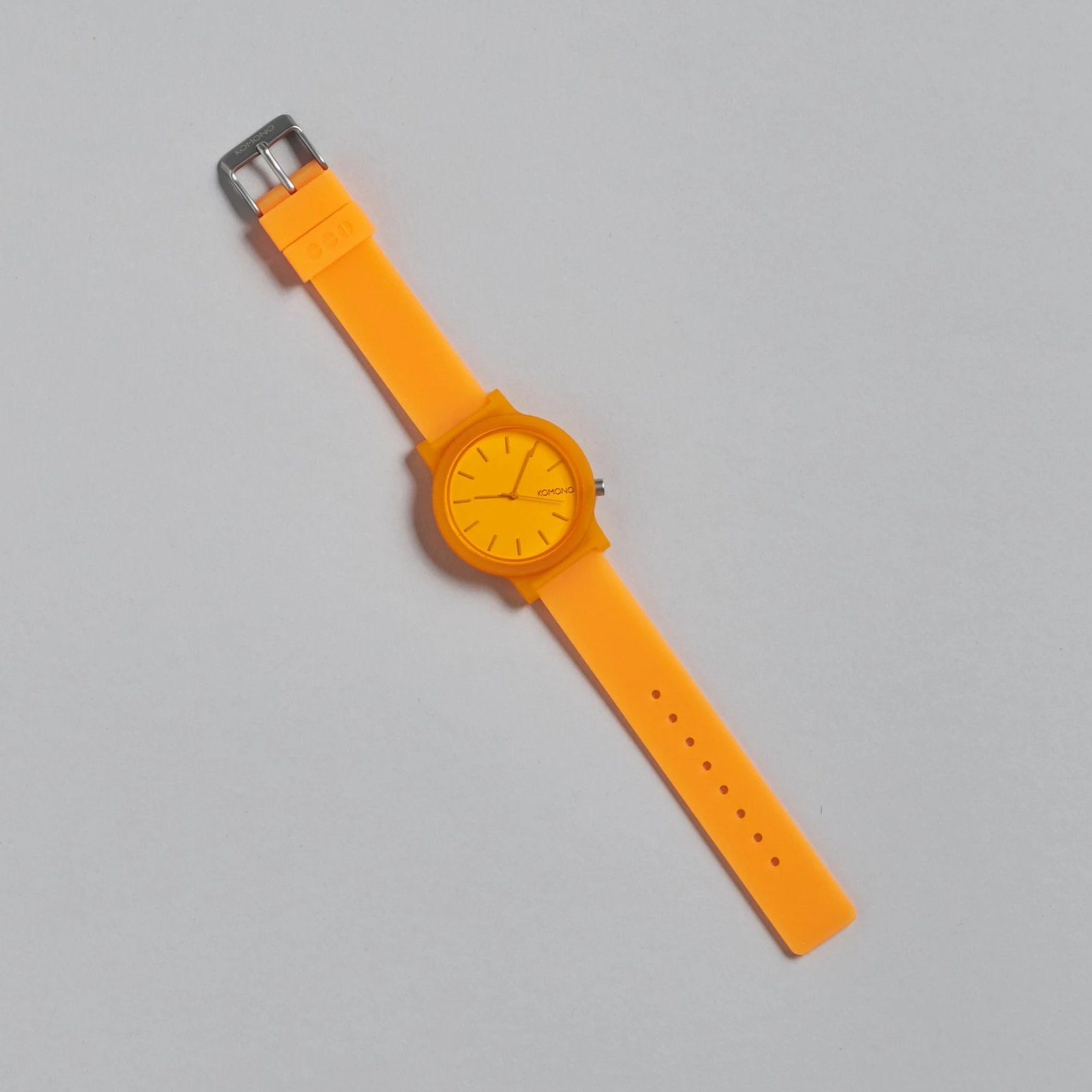 Mono Neon Orange Watch by Komono