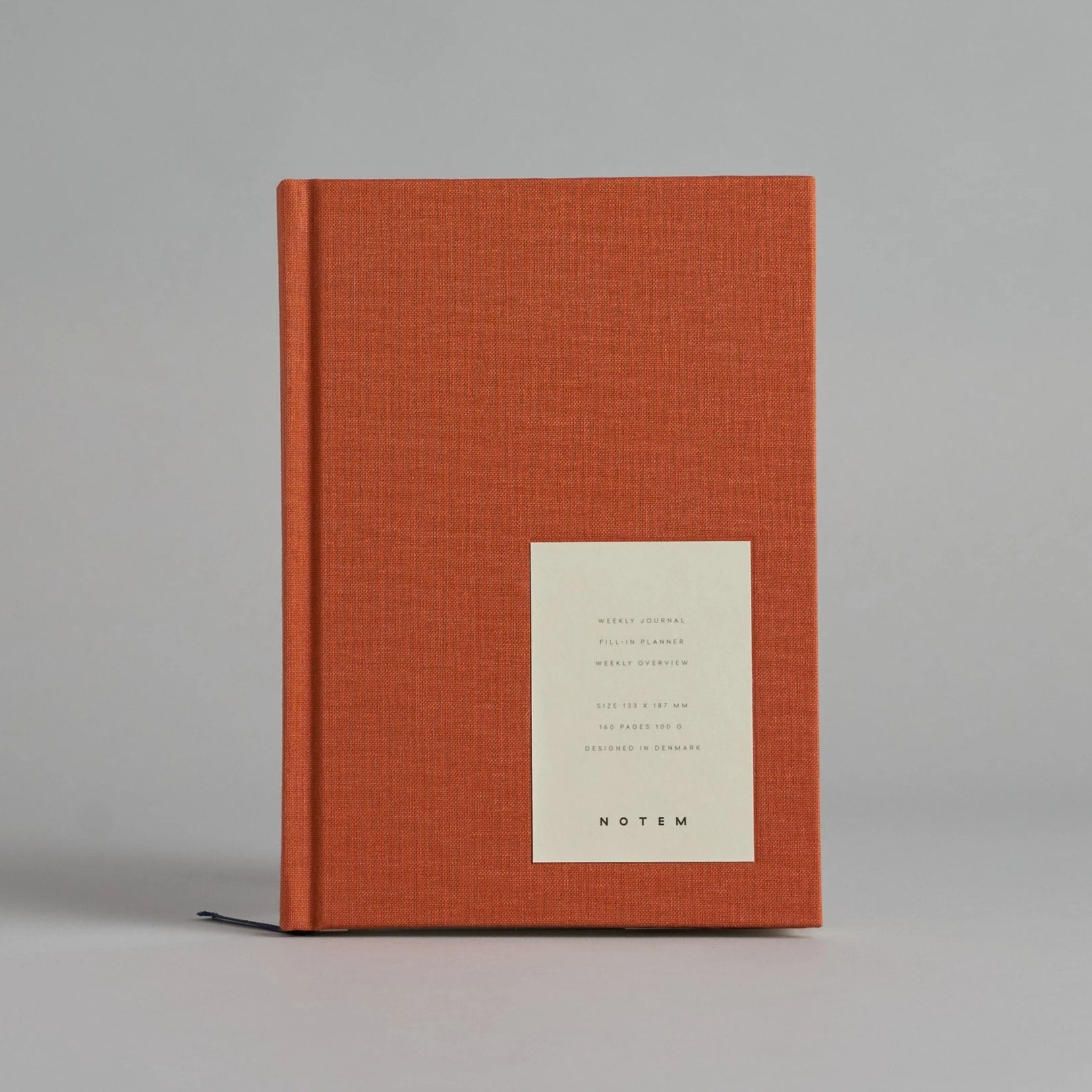 Sienna Orange EVEN Weekly Journal
