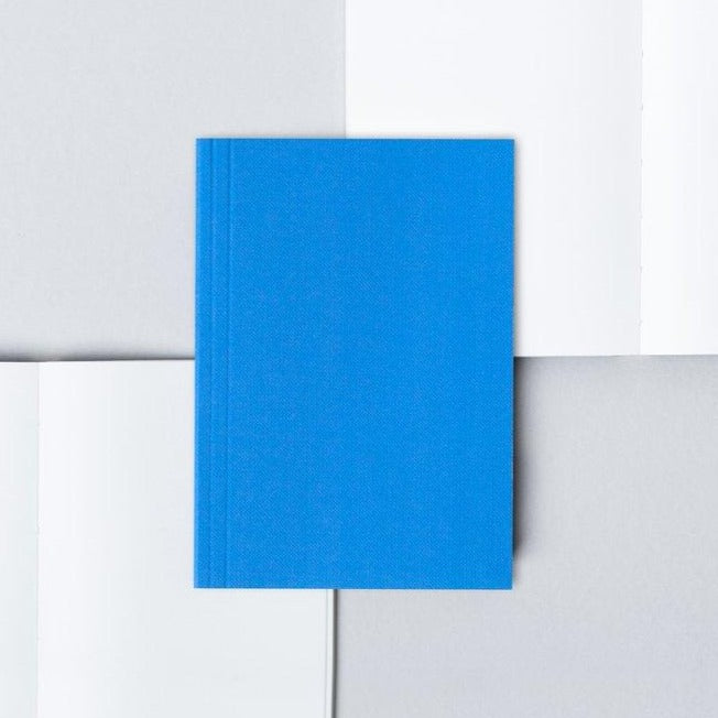 Electric Blue A6 Notebook
