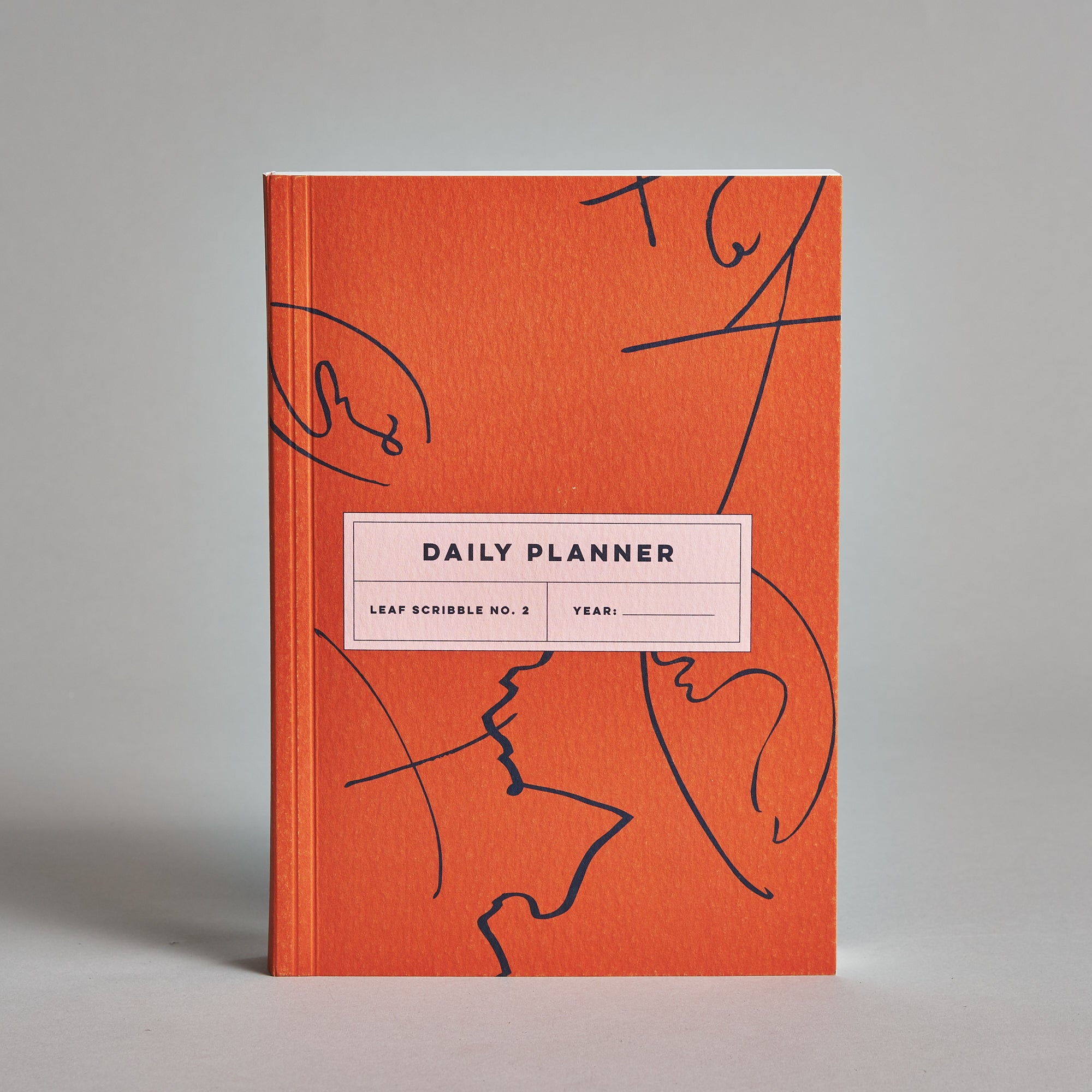 image relating to Dailyplanner called Leaf Scribble No. 2 Day-to-day Planner