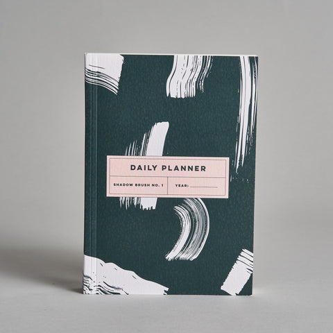 Shadow Brush No. 1 Daily Planner
