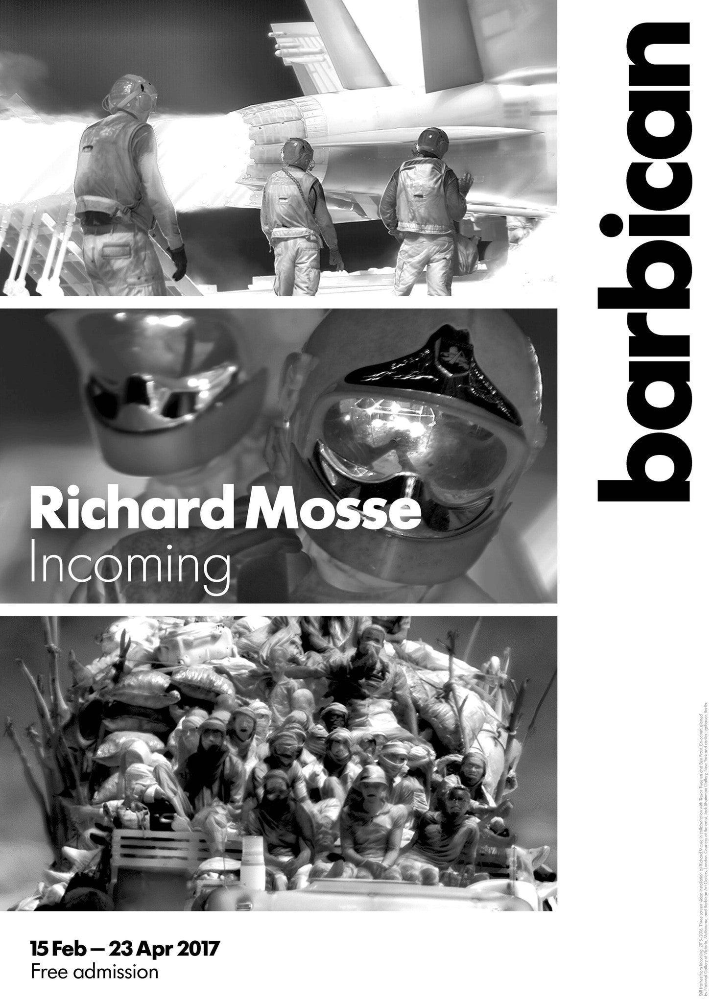 Richard Mosse Incoming Poster