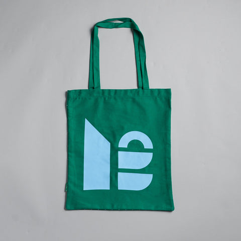 Green Shapes Tote Bag by Reflect Studio