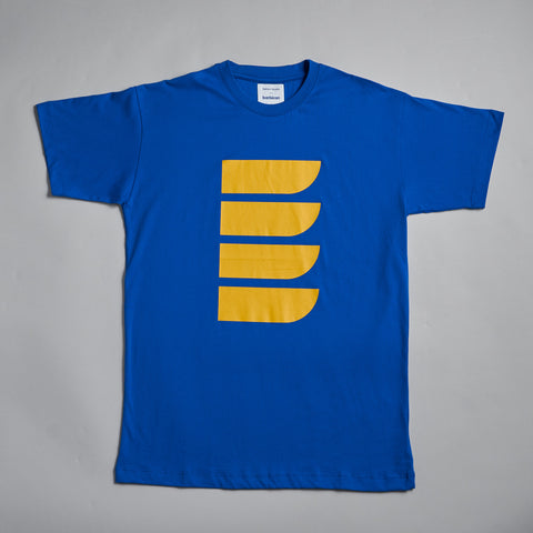 Blue Shapes T-shirt by Reflect Studio