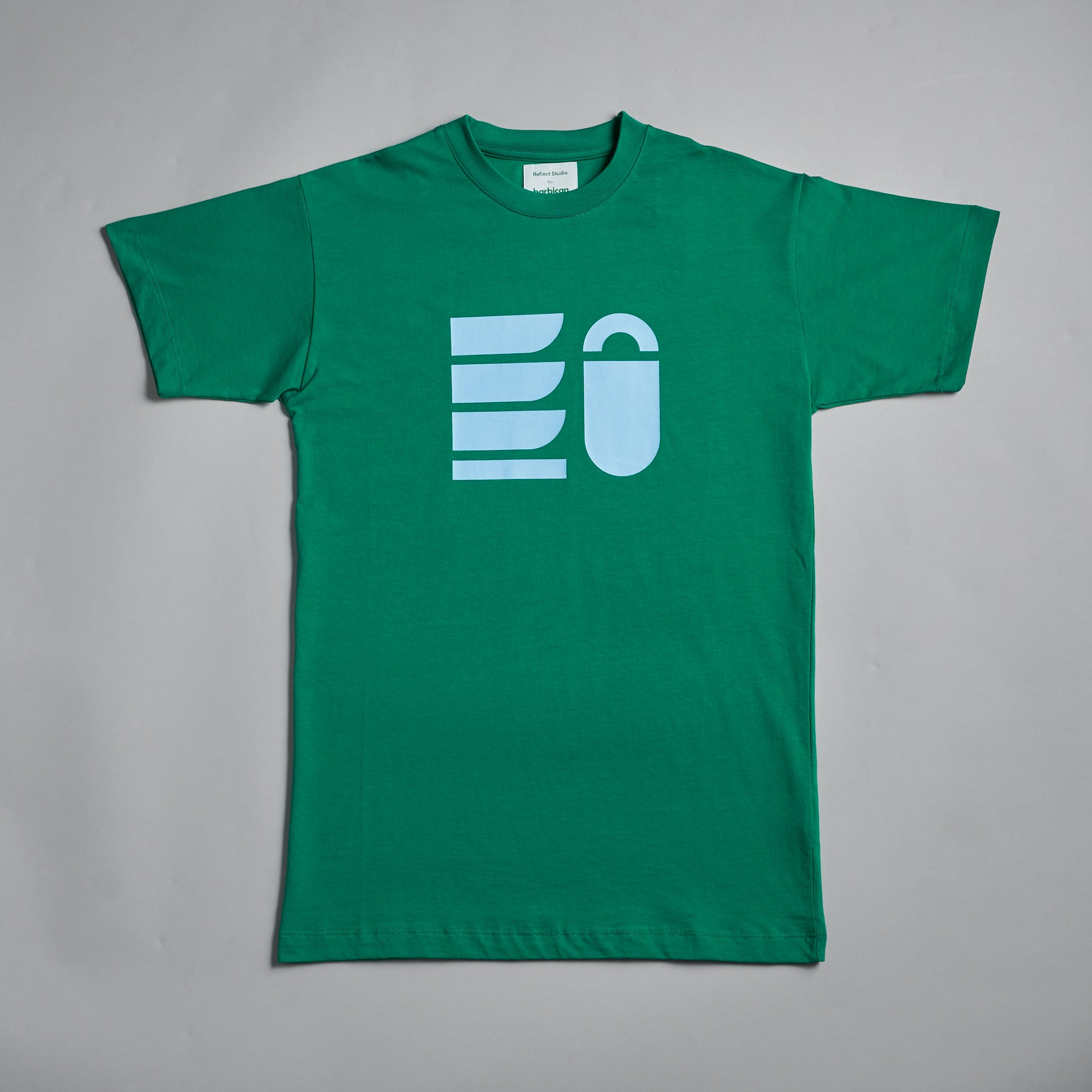 Green Shapes T-shirt by Reflect Studio