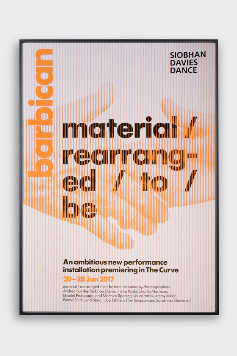 material / rearranged / to / be Poster