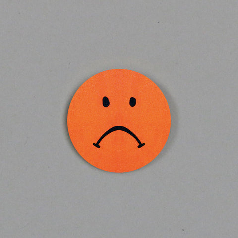 Sad Smiley Badge