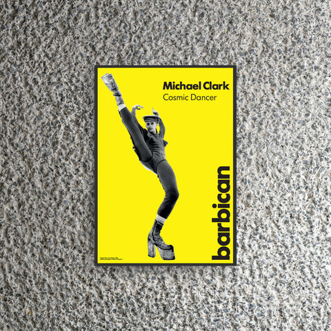 Michael Clark Exhibition Poster - Richard Haughton