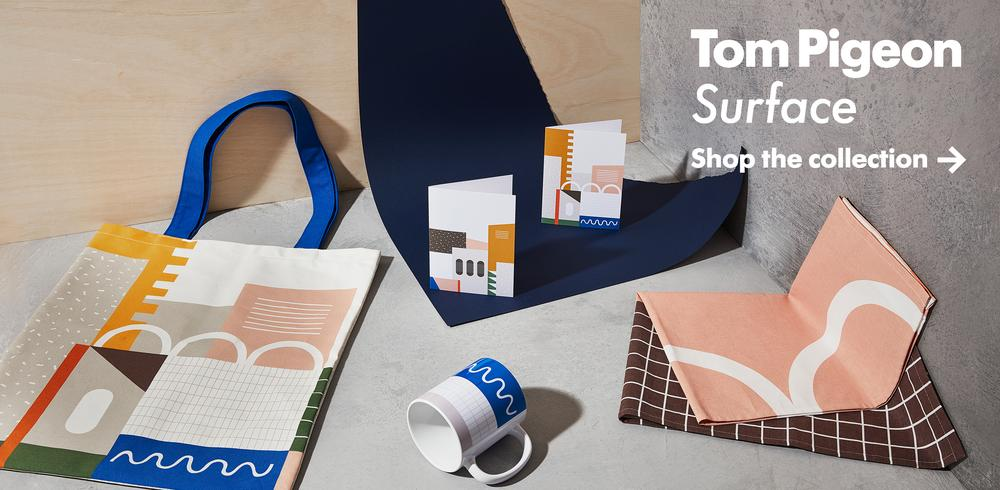 Tom Pigeon Surface Collection