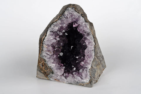 Amethyst druzy geode sculpture - Natural History Direct Online Shop - 1