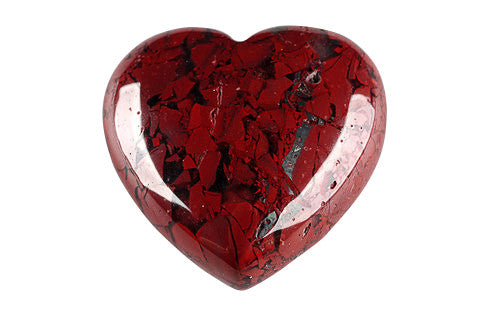 Love Heart | Jasper Breccia - Natural History Direct Online Shop - 1