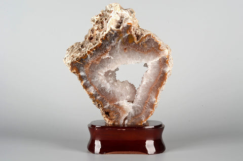 Agate Mineral Sculpture on Base - Natural History Direct Online Shop - 1