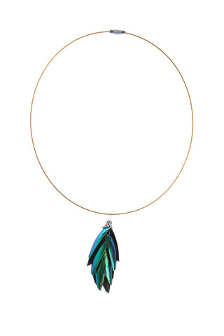 Jewel Beetle Wings Pendant - Natural History Direct Online Shop - 1