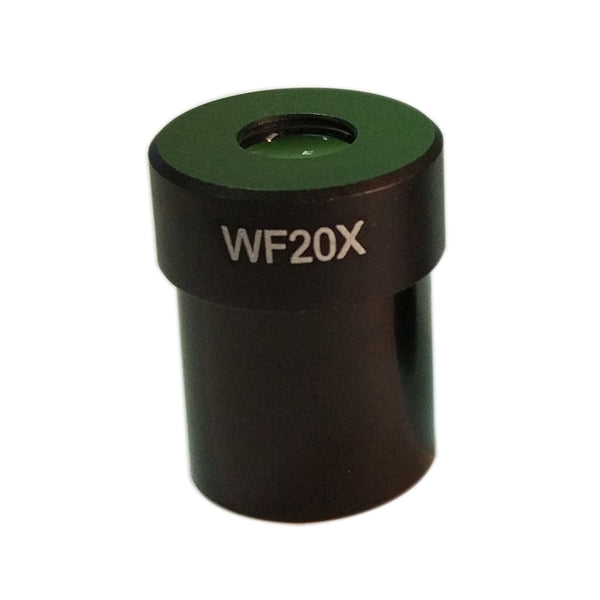 WF20X microscope eyepieces Microscope Accessory Wide Angle Lens 2PCS/LOT