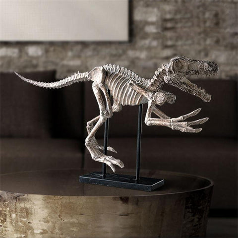 Dinosaur skeleton offbeat decoration for study room Jurassic dinosaur fossil