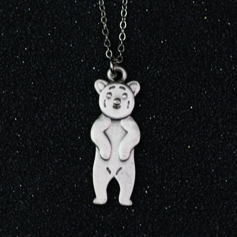 Grizzly Bear Necklace Pendant