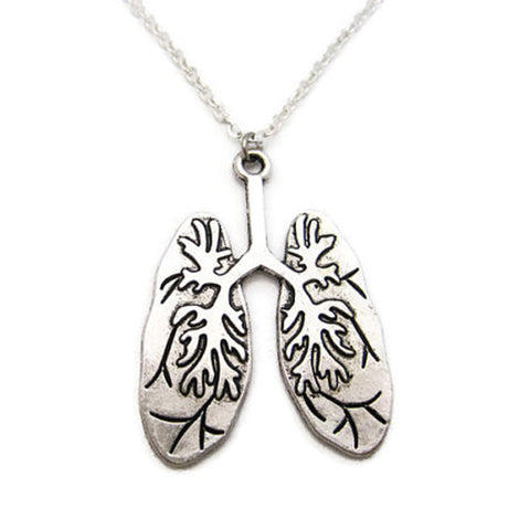 Anatomy Lung Pendant Human Lungs