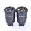 Wide Field WF 20X/10mm Eyepiece High Eye Point Stereo Microscope Eyepiece Mounting Size 30mm for Zoom Stereo Microscope