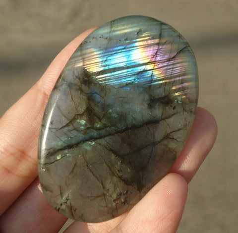 NATURAL Labradorite CRYSTAL 45g