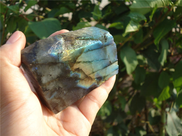 Labradorite Polished Rough Specimen 155G