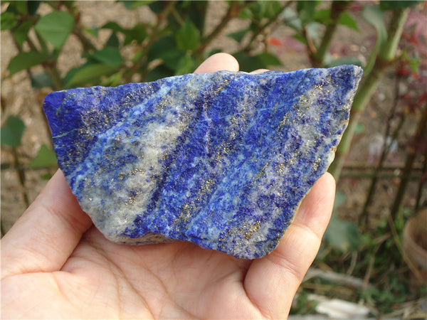 1650 Ct .Natural Untreated Lapis Lazuli Loose Gemstone Mineral Rough