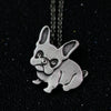 Statement bulldog Necklace Pendant